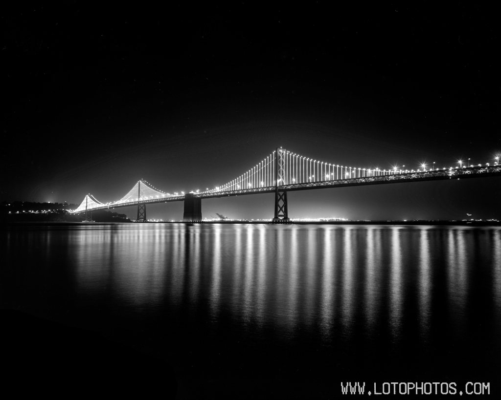 Bay Bridge in SF